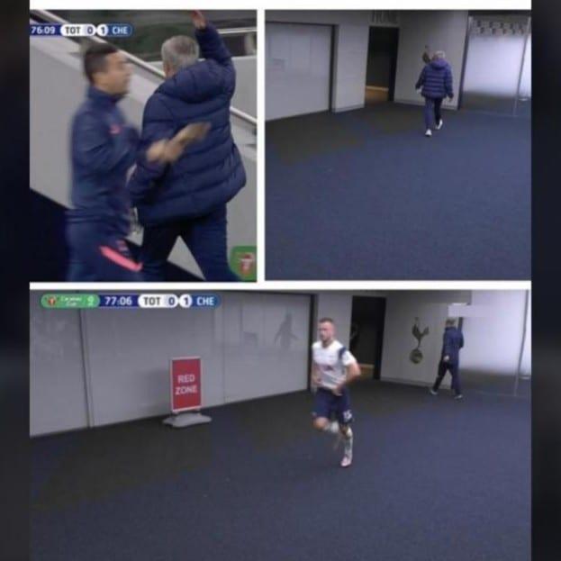 Tottenham : Un joueur quitte le terrain en plein match pour aller aux toilettes