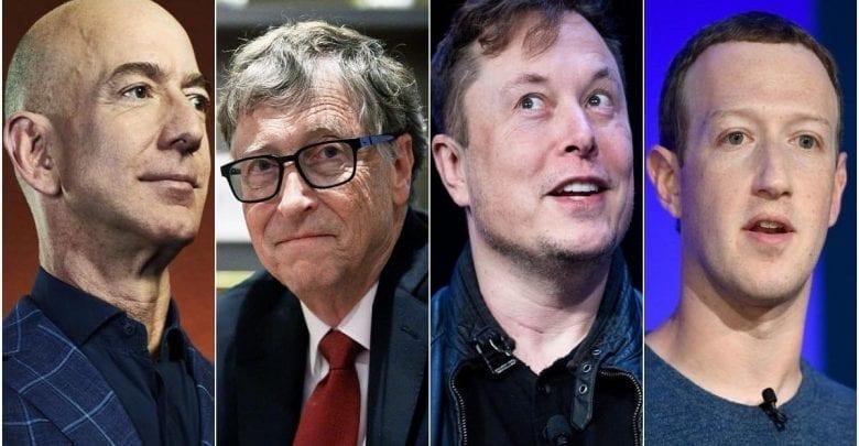 Jeff Bezos, Elon Musk et 8 autres milliardaires perdent 44 milliards $ en un jour