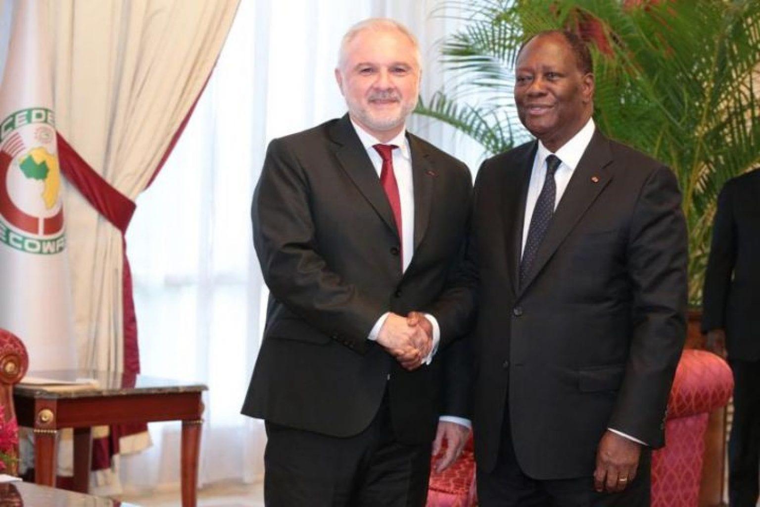 Pourquoi Macron rappelle Gilles Huberson, ambassadeur de France à Abidjan, à Paris ?
