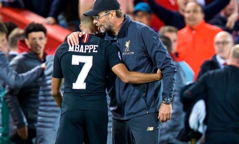 Mercato/PSG : Klopp travaille pour que Mbappé aille à Liverpool plutôt qu'au Real Madrid