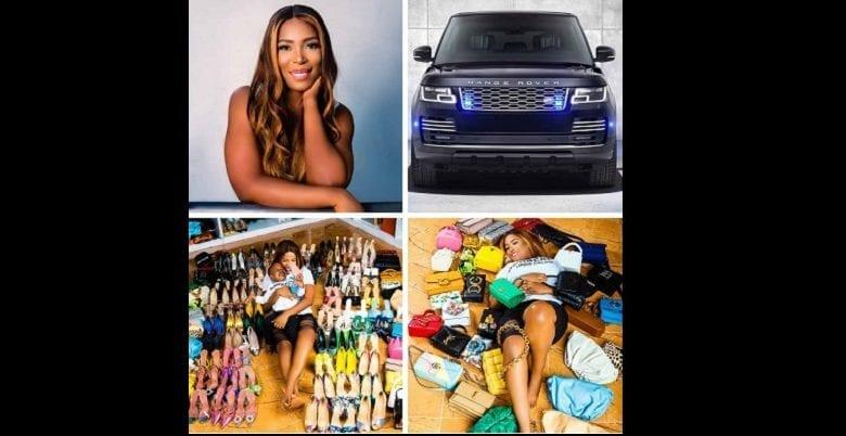 Nigeria : une blogueuse s'offre une Range Rover, 80 paires de chaussures et 35 sacs pour son anniversaire (photos)