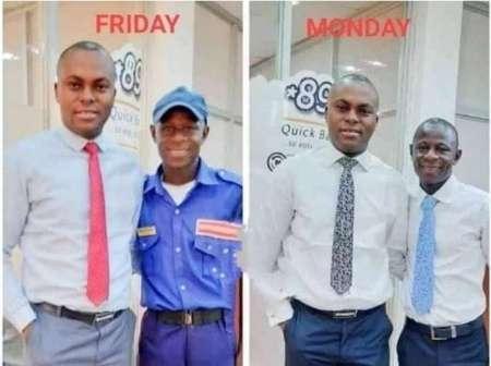 Nigéria : voici l'histoire d'un vigile devenu l'employé d'une banque