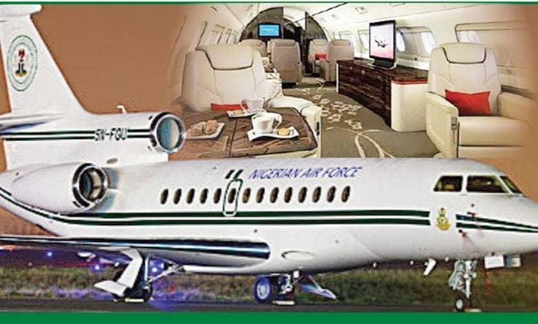 Nigeria : le gouvernement met en vente un avion présidentiel