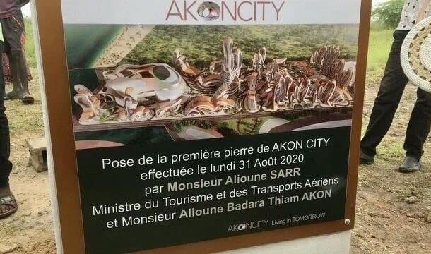 Sénégal : Pose de la première pierre de «Akon City»