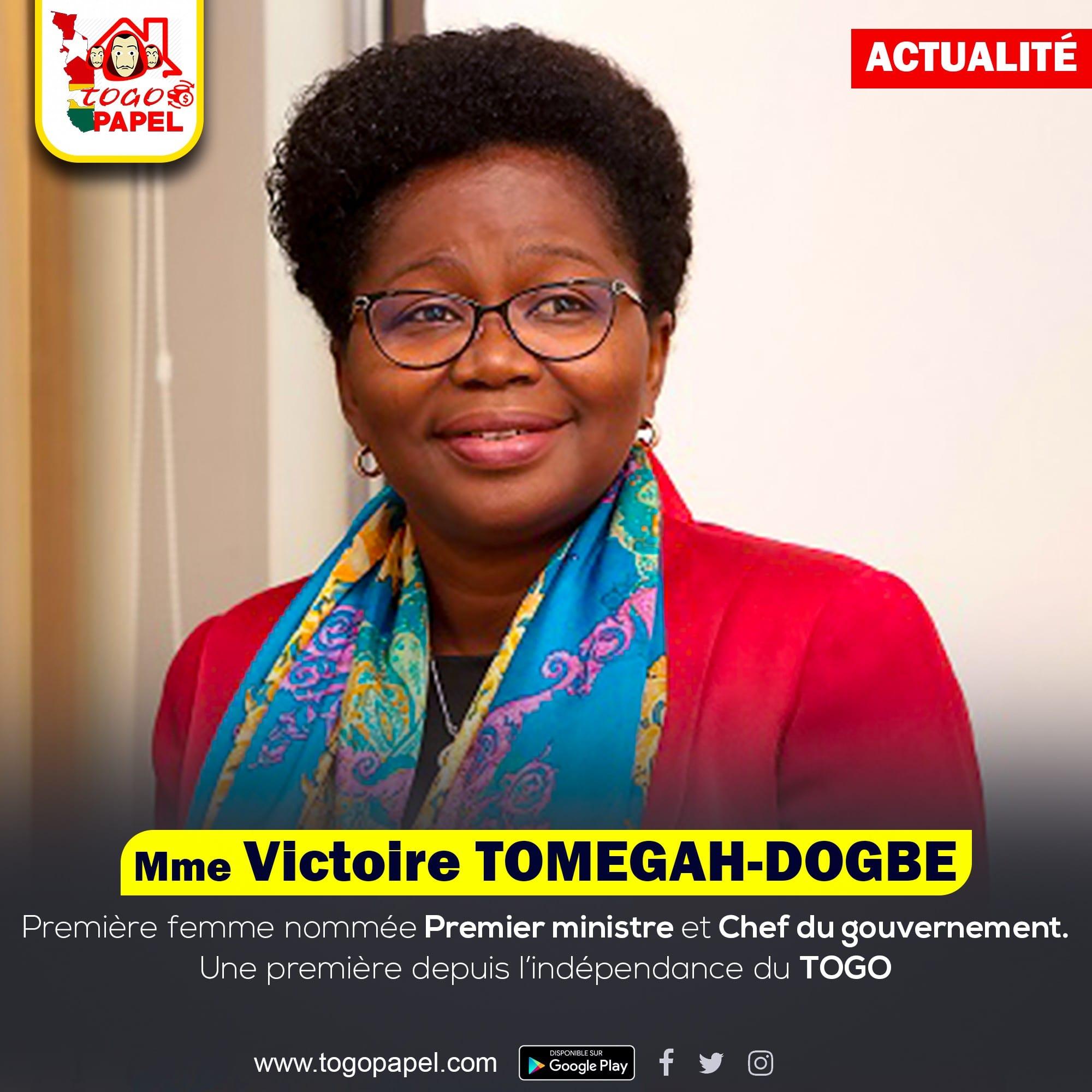 Qui est en réalité Victoire Sidémého Dzidudu TOMEGAH-DOGBE – Biographie 2020