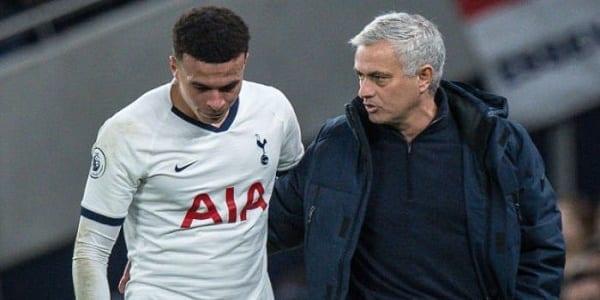 Tottenham : José Mourinho a tranché définitivement pour Dele Alli