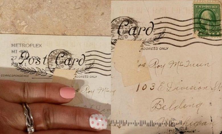 USA : une femme reçoit une carte postale 100 ans après son envoi