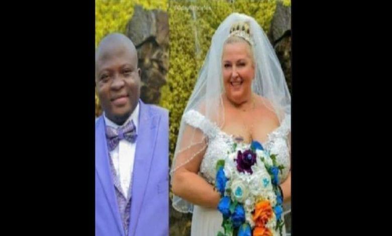 Une Blanche refuse d'obéir à son mari nigérian lors de leurs vœux de mariage: Vidéo