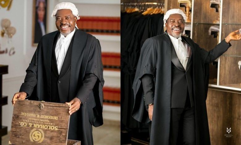 L'acteur de Nollywood Kanayo O. Kanayo devient officiellement avocat