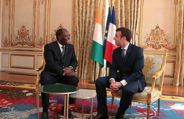 Le Courrier Diplomatique fait de terribles révélations sur Alassane Ouattara et Emmanuel Macron
