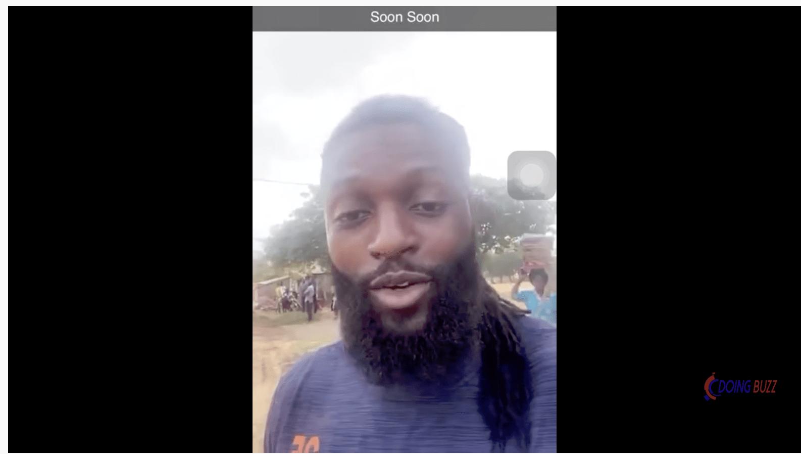 Adebayor arrange des routes et apelle les togolais à en faire de même (video)