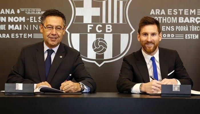 L'émouvant message de Messi qui explique pourquoi il a décidé de rester au Barça !