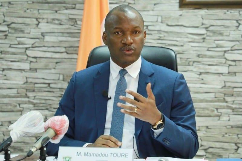 Le ministre Mamadou Touré affirme que Guillaume Soro est un peureux caché à Paris