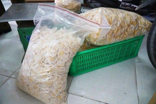 Scandale : Des préservatifs usagés revendus au Vietnam