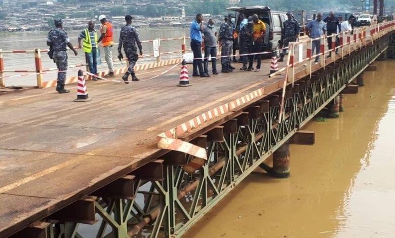 4e Pont d'Abidjan / Un véhicule 4×4 plonge dans la lagune : les 3 personnes à bord décédées