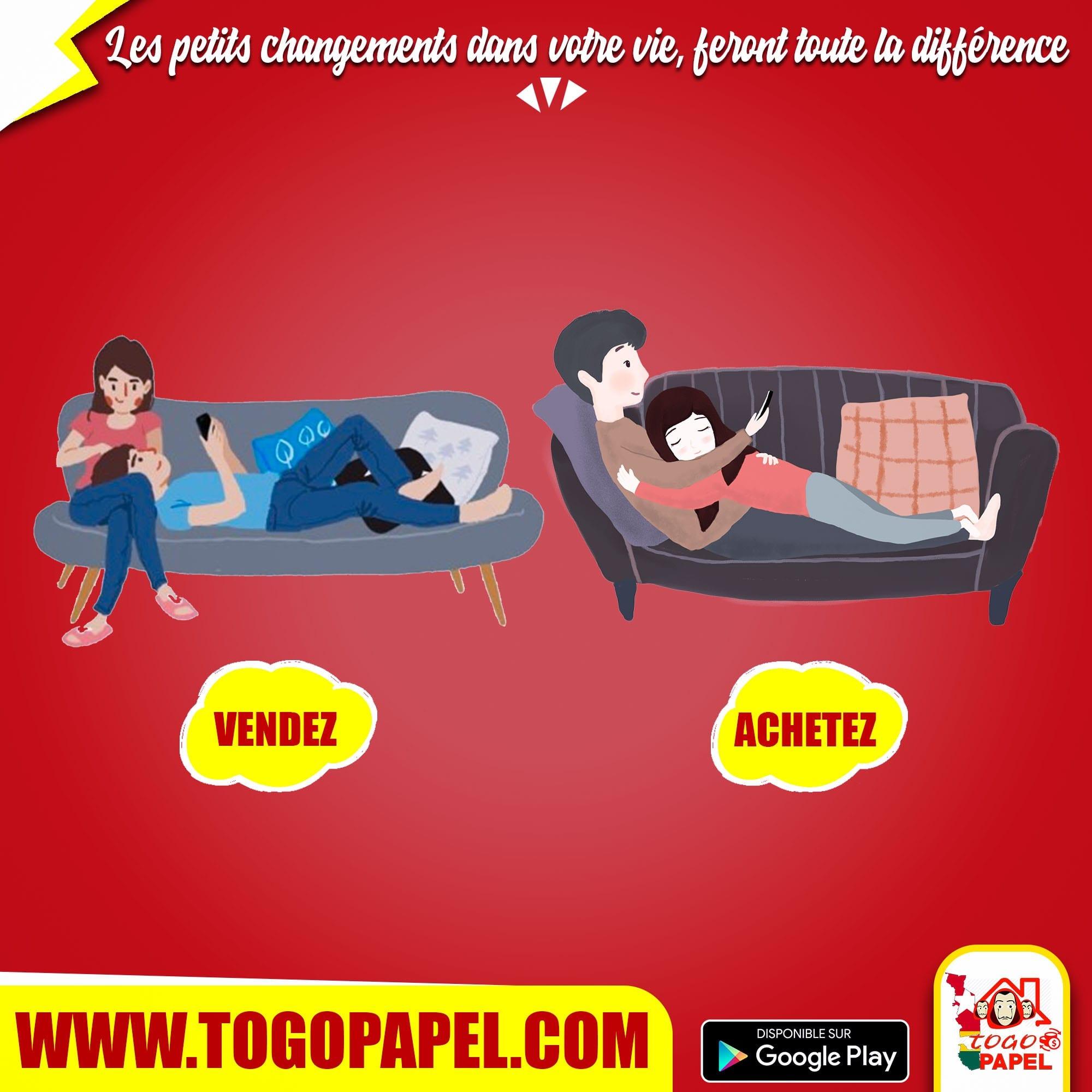 Vendre sur Togopapel.com pour gagner facilement et rapidement de l'argent