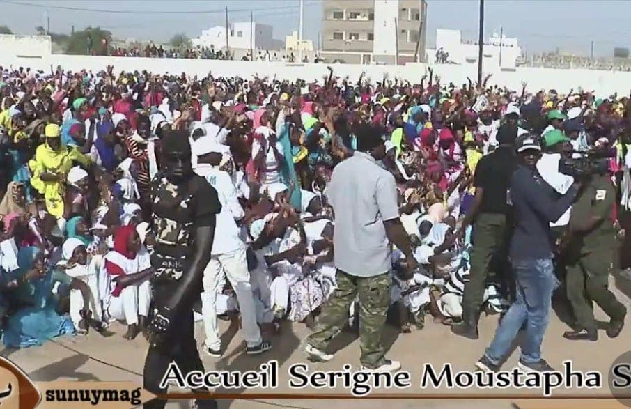 Gamou Tivaouane: L'accueil spectaculaire réservé à Serigne Moustapha Sy