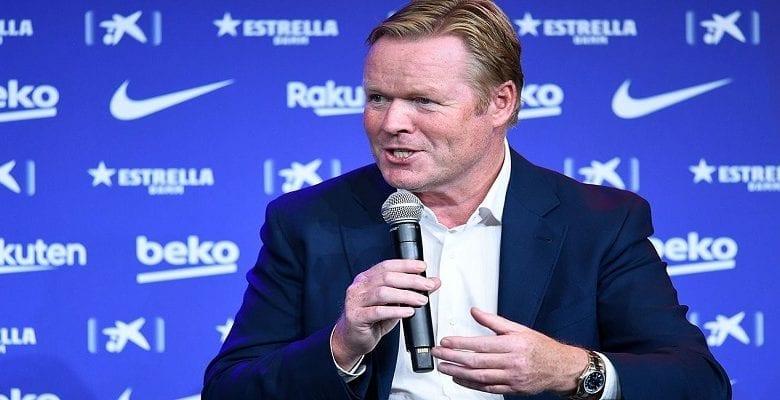 Barça : Koeman annonce ses trois principales cibles pour le mercato d'hiver