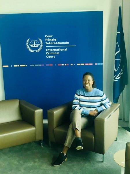 Une Ivoirienne de 21 ans pose ses valises à la CPI