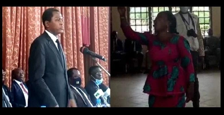 Cameroun : à Kumba une femme stoppe net Atanga Nji en plein discours