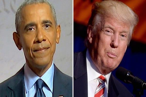 Coronavirus: après la contamination de Trump, Barack Obama se prononce