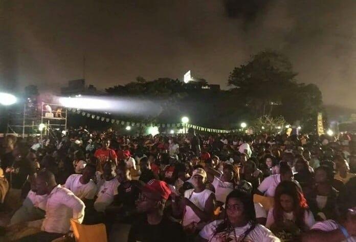 Côte d'Ivoire : Carmen Sama aperçue au concert de Yodé et Siro