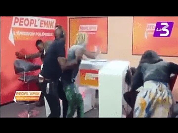 Côte d'Ivoire: Skelly fait un vrai scandale à la télé (Photos)