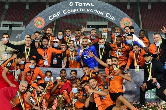 Coupe de la CAF : historique, Berkane remporte la Coupe de la Confédération