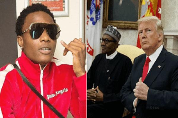 « Donald Trump n'est pas ton affaire, occupe-toi de ton pays » : Wizkid tacle le président Buhari