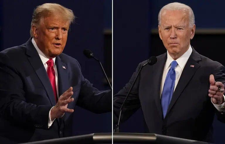 Donald Trump « Joe Biden est un politicien corrompu »