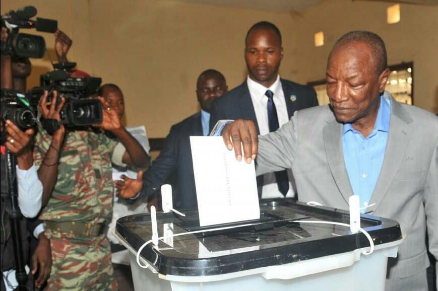 Élection en Guinée : Les USA s'inquiètent des résultats «incohérents»