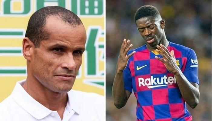 FC Barcelone: Rivaldo s'en prend à Ousmane Dembélé après sa décision de ne pas quitter le club ce mercato
