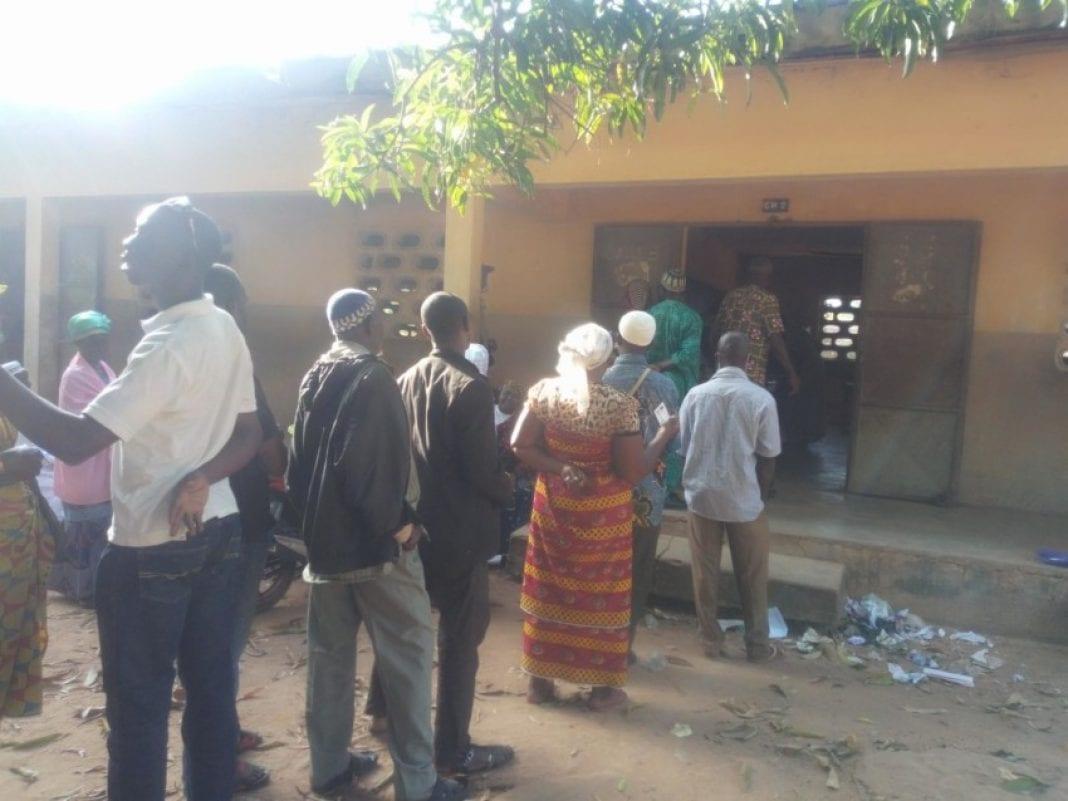Ferkessédougou : début de vote dans le calme