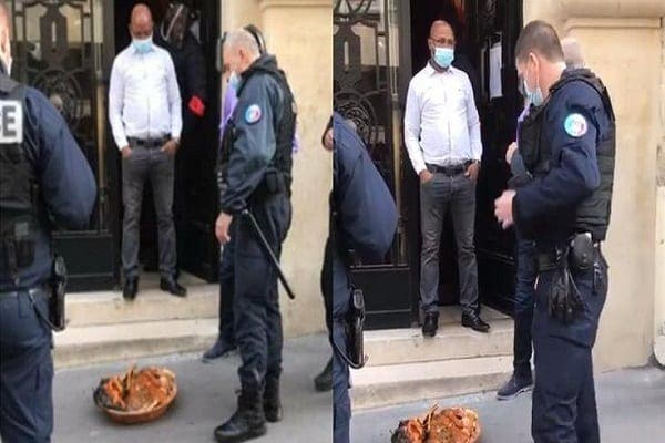 France : La police choquée de voir un « sacrifice » devant l'ambassade du Nigeria (Vidéo)