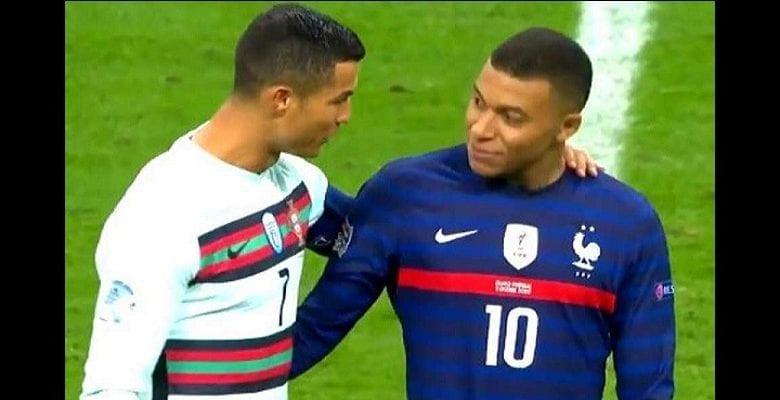 France – Portugal : l'échange entre Ronaldo et Mbappé enfin révélé