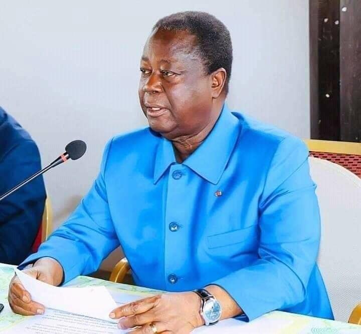 Ghana : Henri Konan Bédié en visite chez le roi des Ashanti