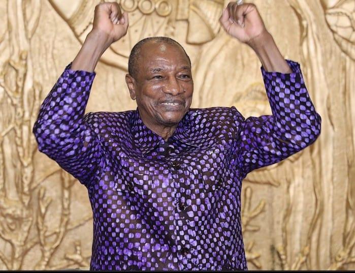 Guinée Conakry : Alpha Condé passe au premier tour selon des résultats préliminaires rendus publics par la CENI.