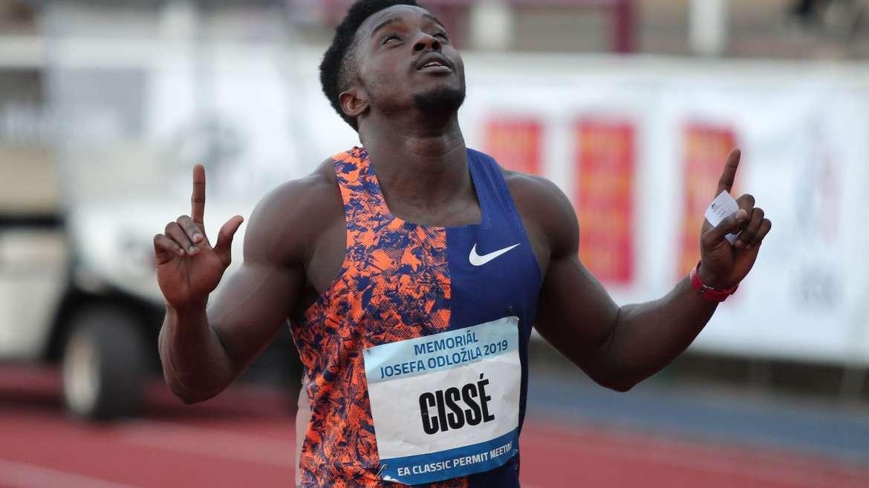 Hamed Bakayoko fait l'éloge du sprinteur Arthur Gué Cissé