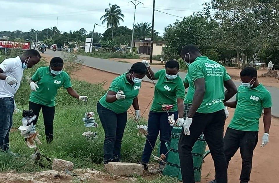 GADDI-TOGO en action pour une gestion écologique et durable des déchets plastiques