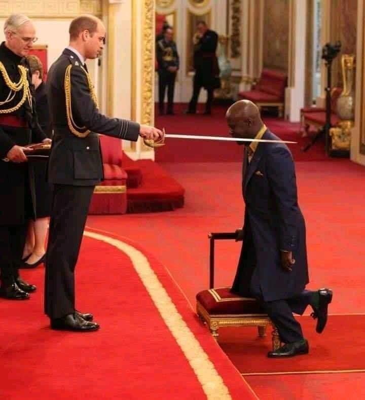 Un Ghanéen reçoit la médaille du meilleur architecte du Royaume-Uni