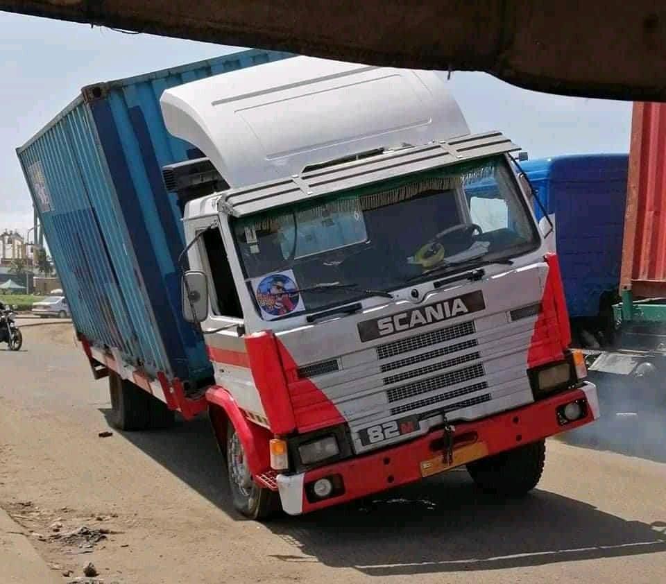 Togo/Insécurité routière : Un grave accident de container éviter de justesse