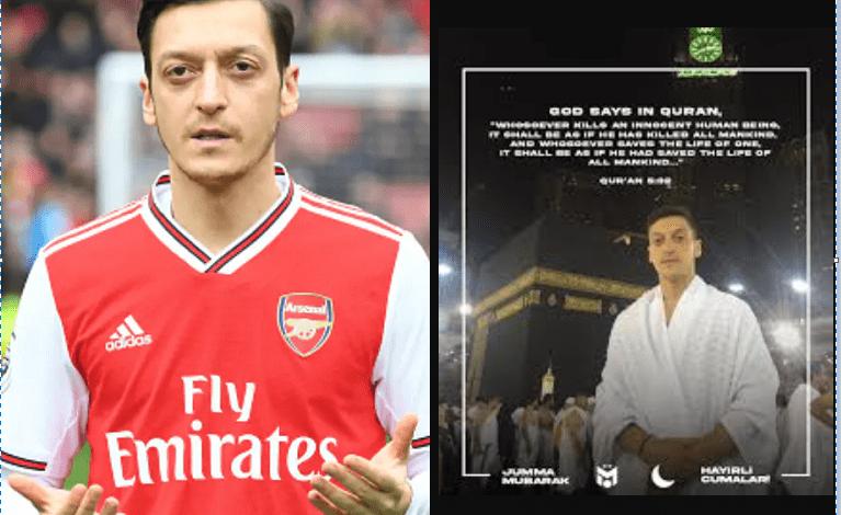« Le terrorisme n'a pas sa place dans l'Islam » : Mesut Ozil, condamne les attaques terroristes en France