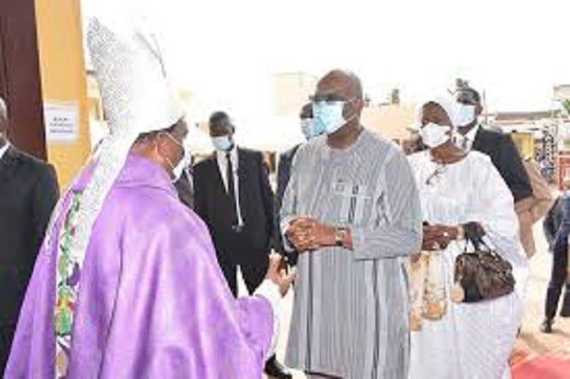 Togo/ Burkina Faso : le président Kaboré aux obsèques de sa belle-mère à Lomé