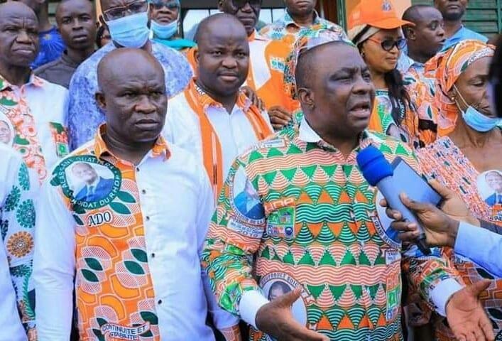 Kobenan kouassi Adjoumani : «Alassane Ouattara, c'est Dieu qui l'a choisi»