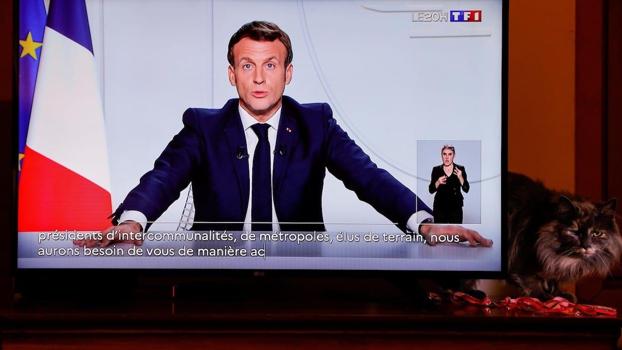 La France confinée à nouveau