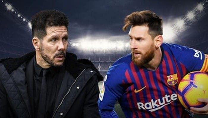 La surprenante réponse de Simeone à la question si Messi peut signer à l'Atletico