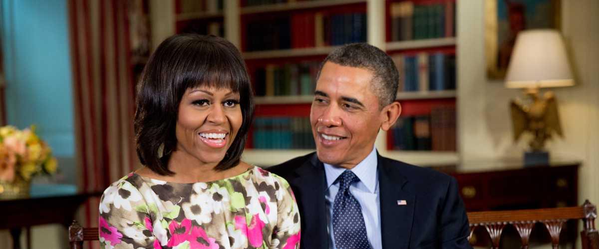 Le couple Obama fête 28 ans de mariage