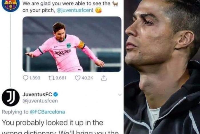 Ligue des Champions : quand le Barça chambre la Juventus qui lui répond à son tour sur Twitter