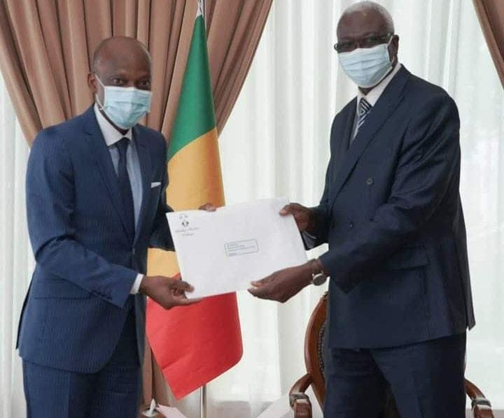Mali : Robert Dussey transmet un message de Faure Gnassingbé à Bah N'daw