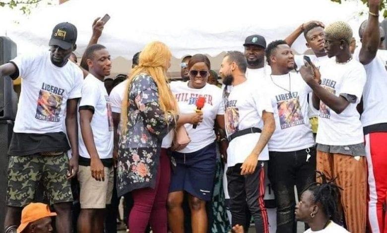 Manifestion à Abidjan pour la libération de Sidiki Diabaté, Général Makosso, Yvidero … sont de la partie – Photos